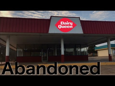Exploring an Abandoned Dairy Queen