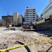 This Week in Demolition: A former bank on a historic downtown plot