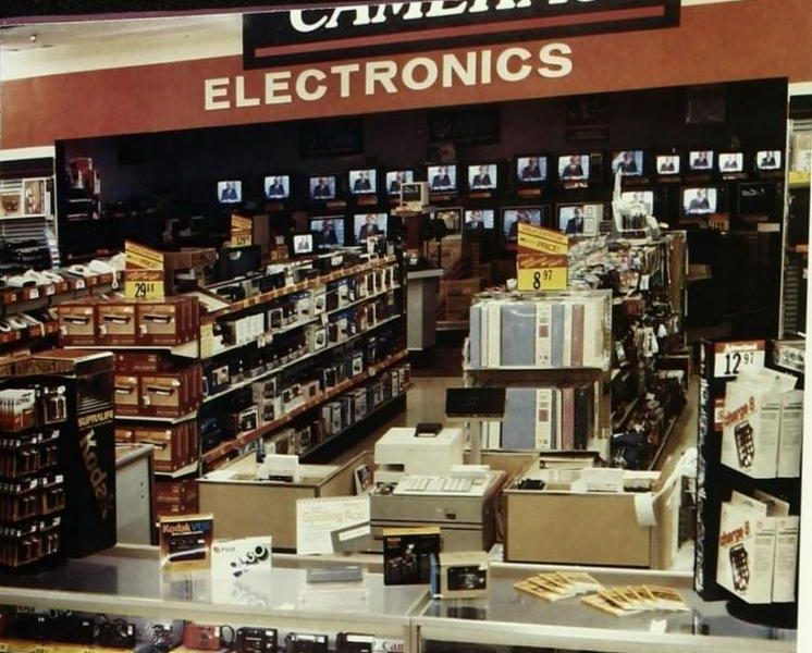Kmart Electronics Alcove, 1987