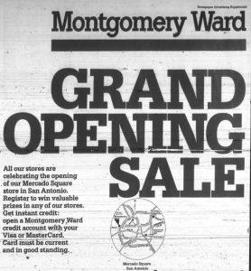 Montgomery Ward Mercado Square