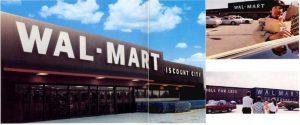 Wal-Mart Exterior Photos, 1981