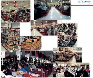 Wal-Mart Interior Photos, 1981