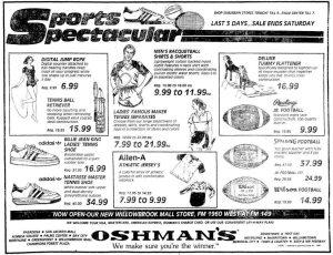 Oshman's Willowbrook