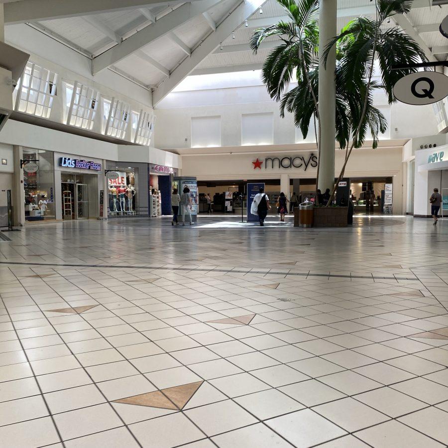 Macy's Women's Store Mall Entrance