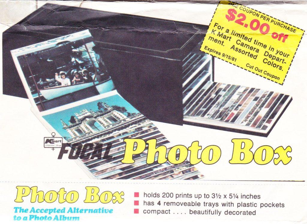 Kmart Focal Photo Box, 1981