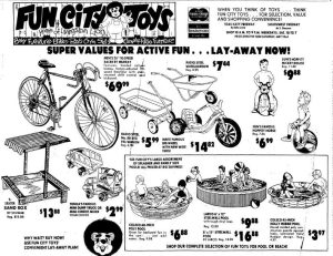 Fun City Toys with Livingston Lion