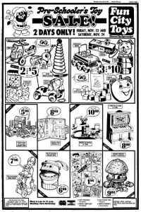 Fun City Toys: Discount Toy Supermarket