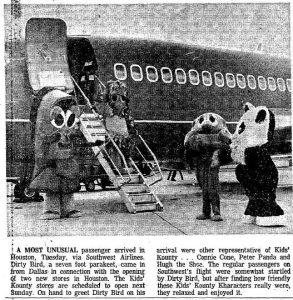 Kids' Kounty Southwest Airlines